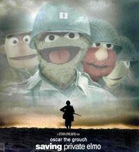 Saving Private Elmo
