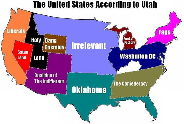 Utah's relationship with America